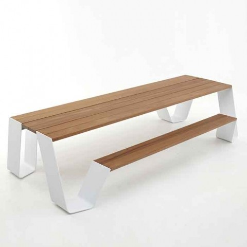 Modern Picnic Table Outdoor Dining Tables By