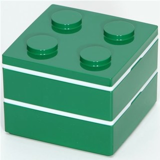 funny green Lego brick Bento Box from Japan - Lunch Boxes And Totes