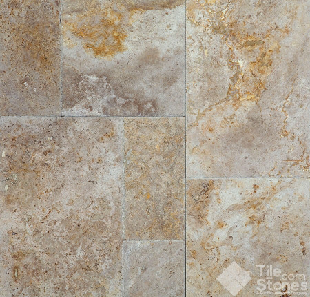 Travertine Paver Sierra Rustic 1 1 4 Quot 3cm Tumbled