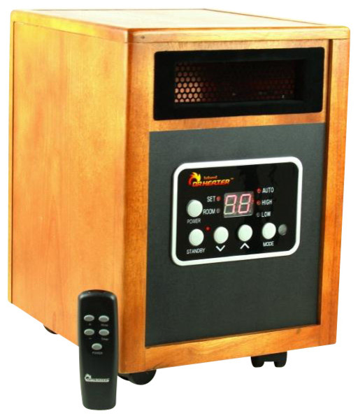 Dr Infrared Heater Quartz PTC Infrared Portable Space Heater - Modern - Space Heaters - by Dr ...