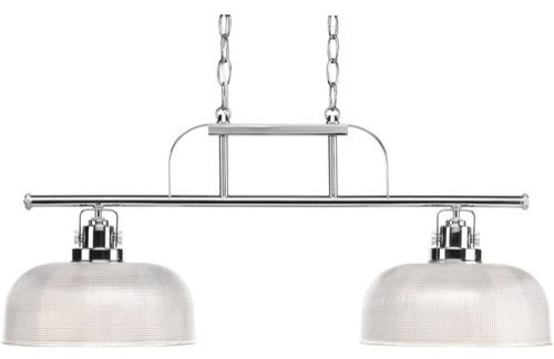 Progress Lighting Archie Collection 2 Light Antique Nickel: Progress Lighting P4624-15 Archie 2 Light 1 Tier