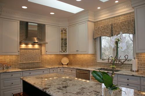 Alaska White Granite : Alaska white granite cabinets backsplash ideas
