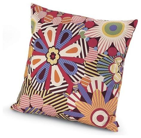 All Modern Missoni Pillows : Missoni Home Naima Pillow 16x16 - Modern - Decorative Pillows