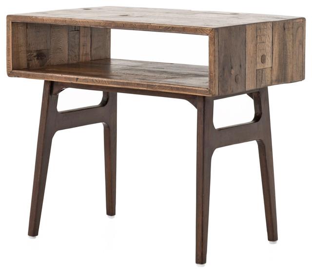 rustic modern nightstand 2