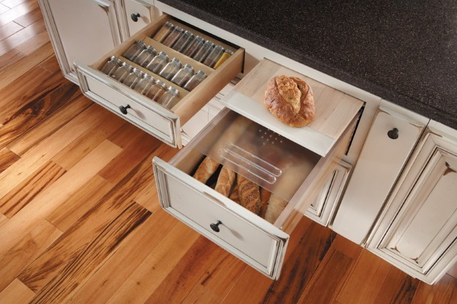 Getting Organized with Fieldstone Cabinetry - Kitchen Cabinetry - other metro - by Absolute ...