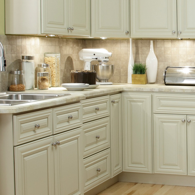 Kitchen Cabinet Company: B.Jorgsen & Co. Victoria Ivory Kitchen Cabinets