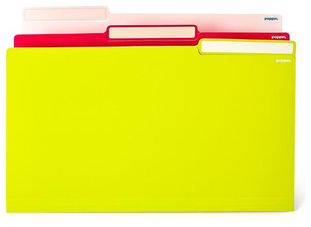 File Folders - Modern - Filing Cabinets
