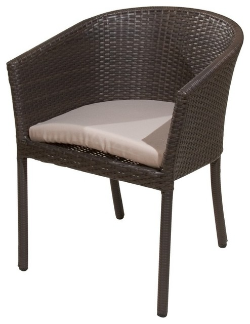Paris Bistro Chair Beach Style Living Room Chairs by