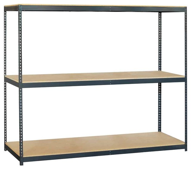 Storage Rack with Shelves - Industrial - Utility Shelves - by ShopLadder