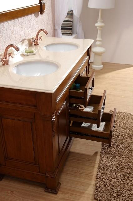 Beautiful Vanities  Taurus 1400 Solid Timber Vanity  Traditional  Bathroom