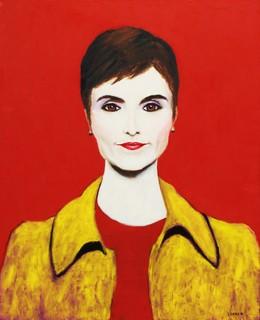 Catherine Herridge Original Painting Contemporary