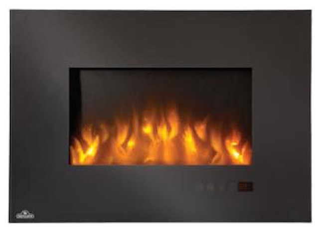 Napoleon Slimline Series Electric Fireplace Contemporary Indoor Fireplaces Other Metro