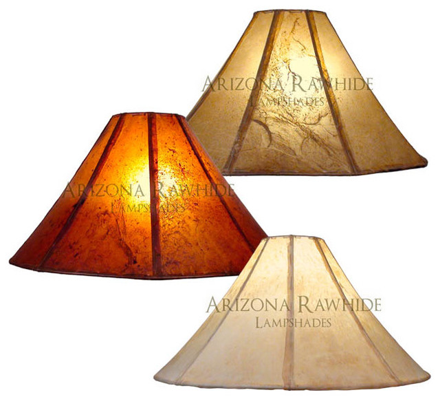 rawhide lamp shade extra large lamps size 12 h x 23 w 6 w t. Black Bedroom Furniture Sets. Home Design Ideas