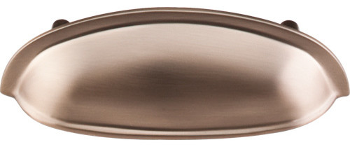 Somerset Cup Pull - Brushed Bronze (TKM1675) - Traditional - Cabinet And Drawer Handle Pulls ...