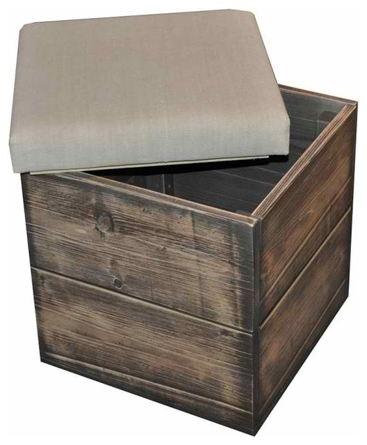 Storage Box - Eclectic - Footstools And Ottomans - new york - by Omero