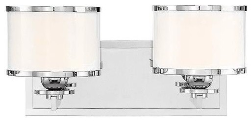 nickel 2 light bath bracket modern brackets by elite fixtures
