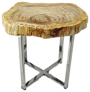 ... Table, Round - Contemporary - Side Tables And End Tables - by Impact
