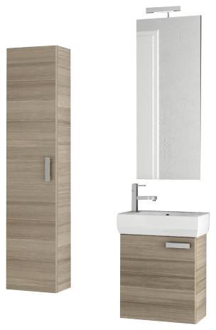 18 inch larch canapa bathroom vanity set modern bathroom vanities and