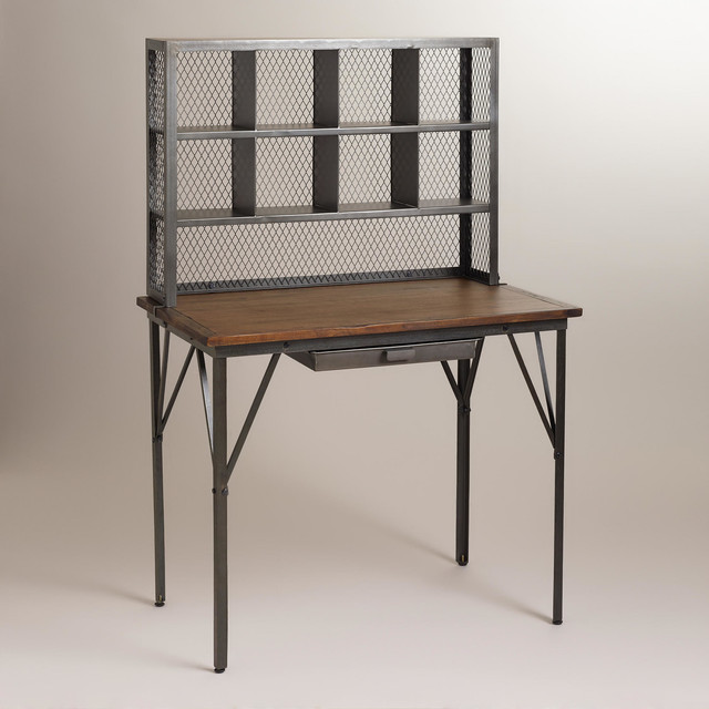 Myles Counter Desk Eclectic Desks And Hutches By