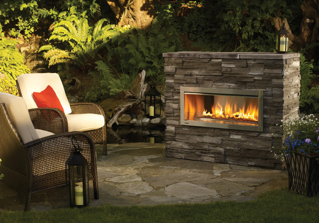 hzo42 modern outdoor gas fireplace contemporary outdoor fireplaces