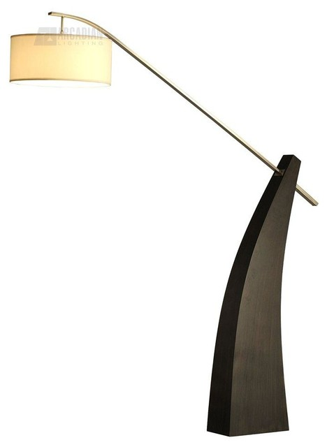 nova lighting tusk contemporary arc floor lamp x 91501. Black Bedroom Furniture Sets. Home Design Ideas