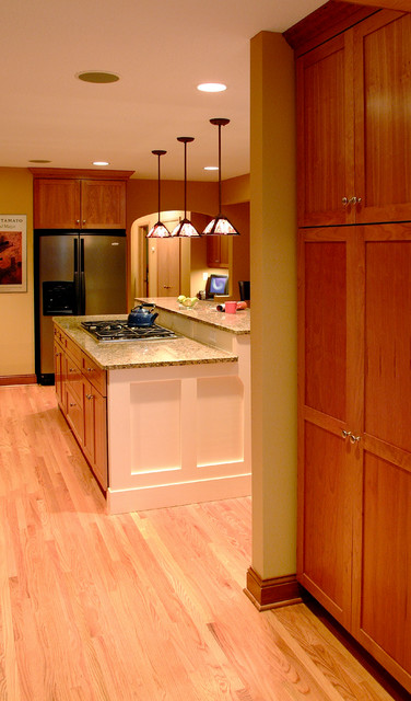 Rambler kitchen remodel contemporary minneapolis by for Rambler kitchen remodel ideas