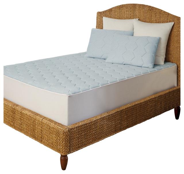 Arctic Sleep By Pure Rest Cooling Gel Memory Foam Mattress