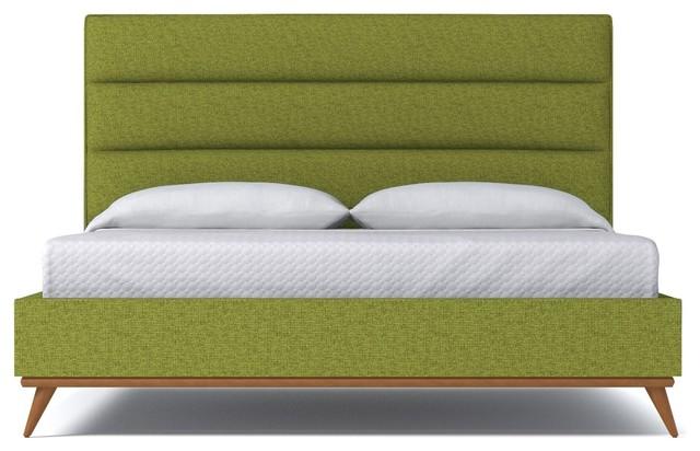 Cooper Upholstered Bed From Kyle Schuneman Green Apple Green Apple