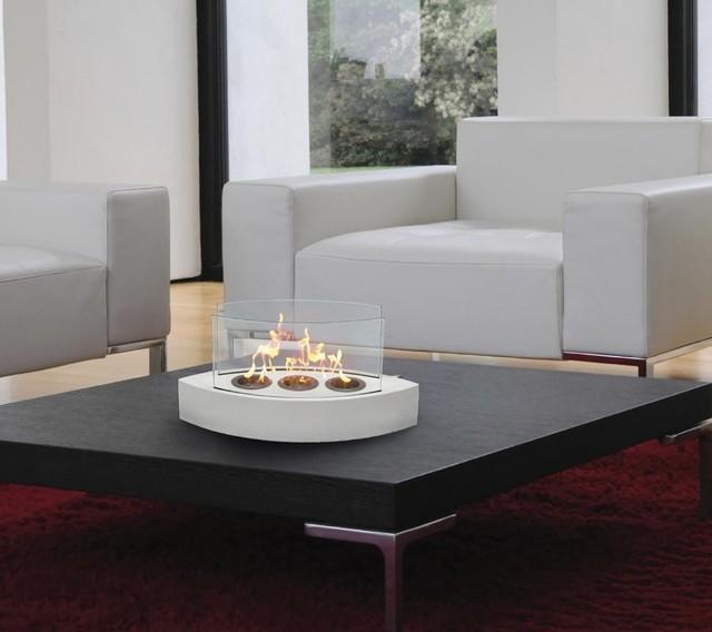 Lexington Table Top Indoor Outdoor Biofuel Fireplace