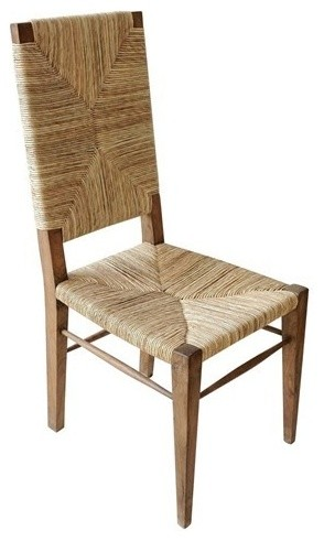Noir Furniture Neva Teak Chair Traditional Dining Chairs By Greatfurnituredeal