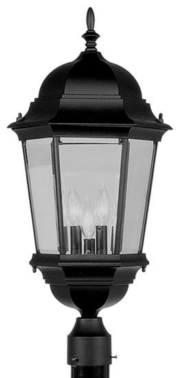 Livex lighting 7568 04 outdoor lighting post light for Contemporary outdoor post light fixtures