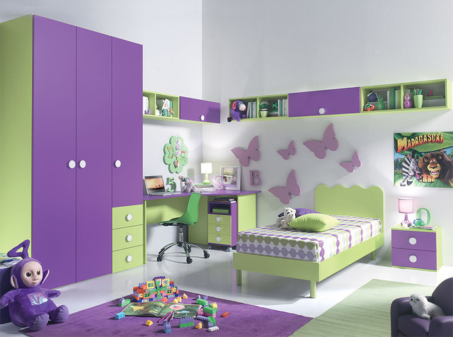 Modern Italian Kids Bedroom VV Composition G049 4 Modern Kids B