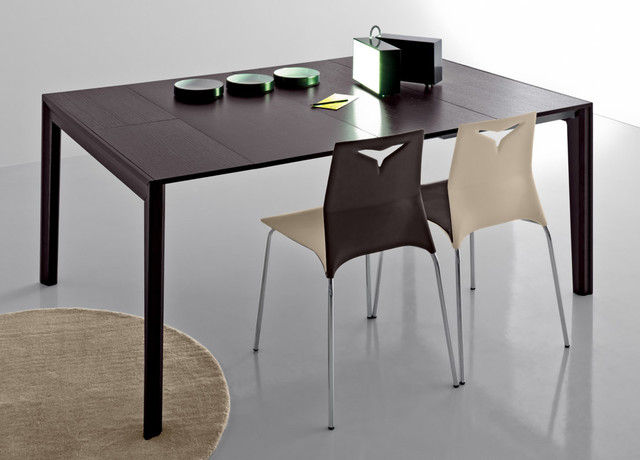 39 magic 39 extending console wenge dining table by compar. Black Bedroom Furniture Sets. Home Design Ideas
