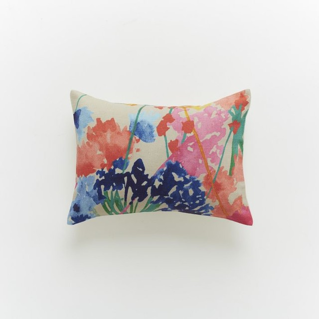 Decorative Pillows At West Elm : Siesta Floral Pillow Cover - Modern - Decorative Pillows - by West Elm