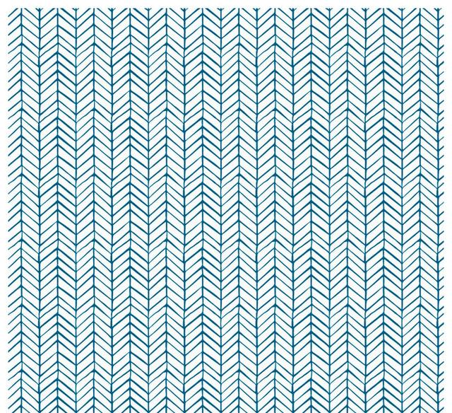 Removable wallpaper herringbone peel stick self adhesive contemporain papier peint par - Papier peint ontwerp contemporain ...