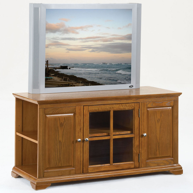 TV Stand in Oak - Modern - Entertainment Centers And Tv Stands