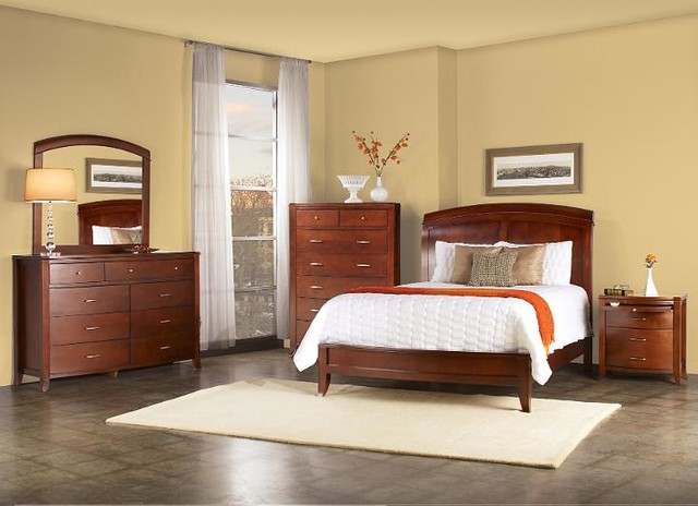 modus furniture brighton bedroom set contemporary