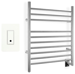 WarmlyYours Towel Warmer Infinity Hard-wire with WeMo Wi-Fi Switch