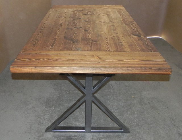 Modern Farmhouse Table Modern Dining Tables calgary by Chrome Dome De