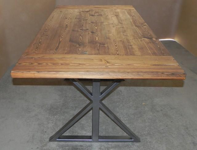 Modern Farmhouse Table Modern Dining Tables calgary by Chrome Dome De