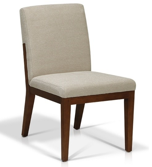 Good Looking Fabric Side Dining Chair Contemporary Dining Chairs By A