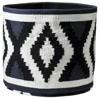 Nate Berkus Woven Cotton Round Storage Bin - Contemporary - Baskets - by Target
