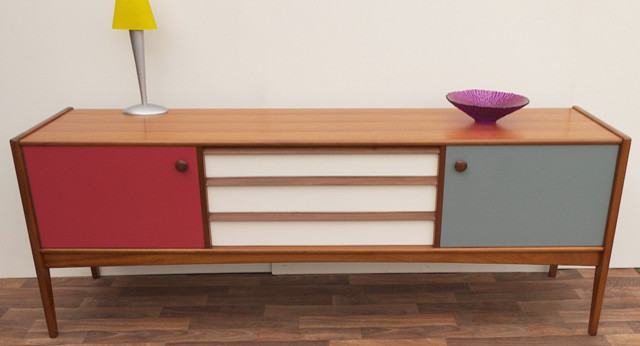vintage teak sideboard contemporary buffets and sideboards london by curated. Black Bedroom Furniture Sets. Home Design Ideas