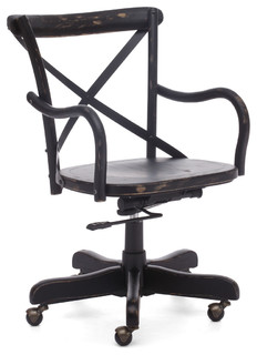 square office chair antique black asian office chairs by inmod