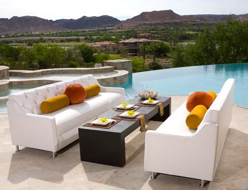 Dining alfresco resort syyle contemporary patio for Outdoor furniture las vegas