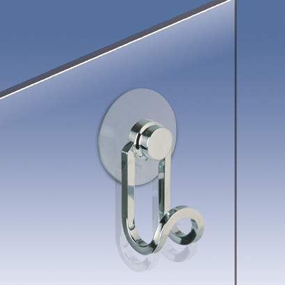 Shower Door Hook In Chrome Gold Contemporary Towel Bars And Hooks By T