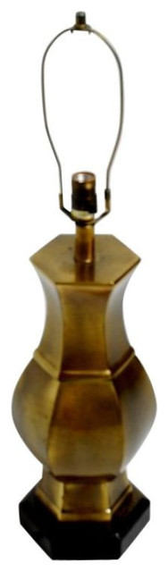 Cooper Brass Table Lamp Vintage Brass Lamp by Frederick Cooper - $695 Est. Retail - $295 on Chairish.