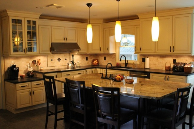Kitchen remodel souderton pa transitional for Kitchen cabinets quakertown pa