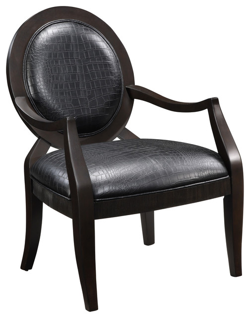 Creek Classics Alligator Accent Chair - Contemporary - Living Room Chairs - by Overstock.com