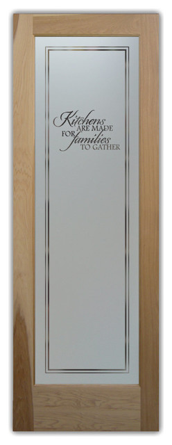 maple frosted glass pantry door for contemporary kitchen | Pantry Doors - pd Frosted Etched Glass - Kitchen Products ...